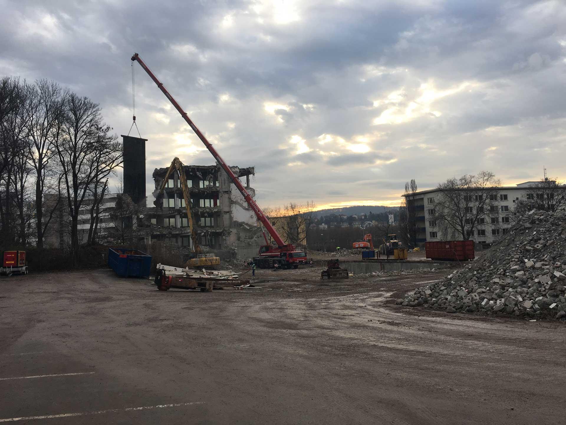 Eckert Industrieabbruch